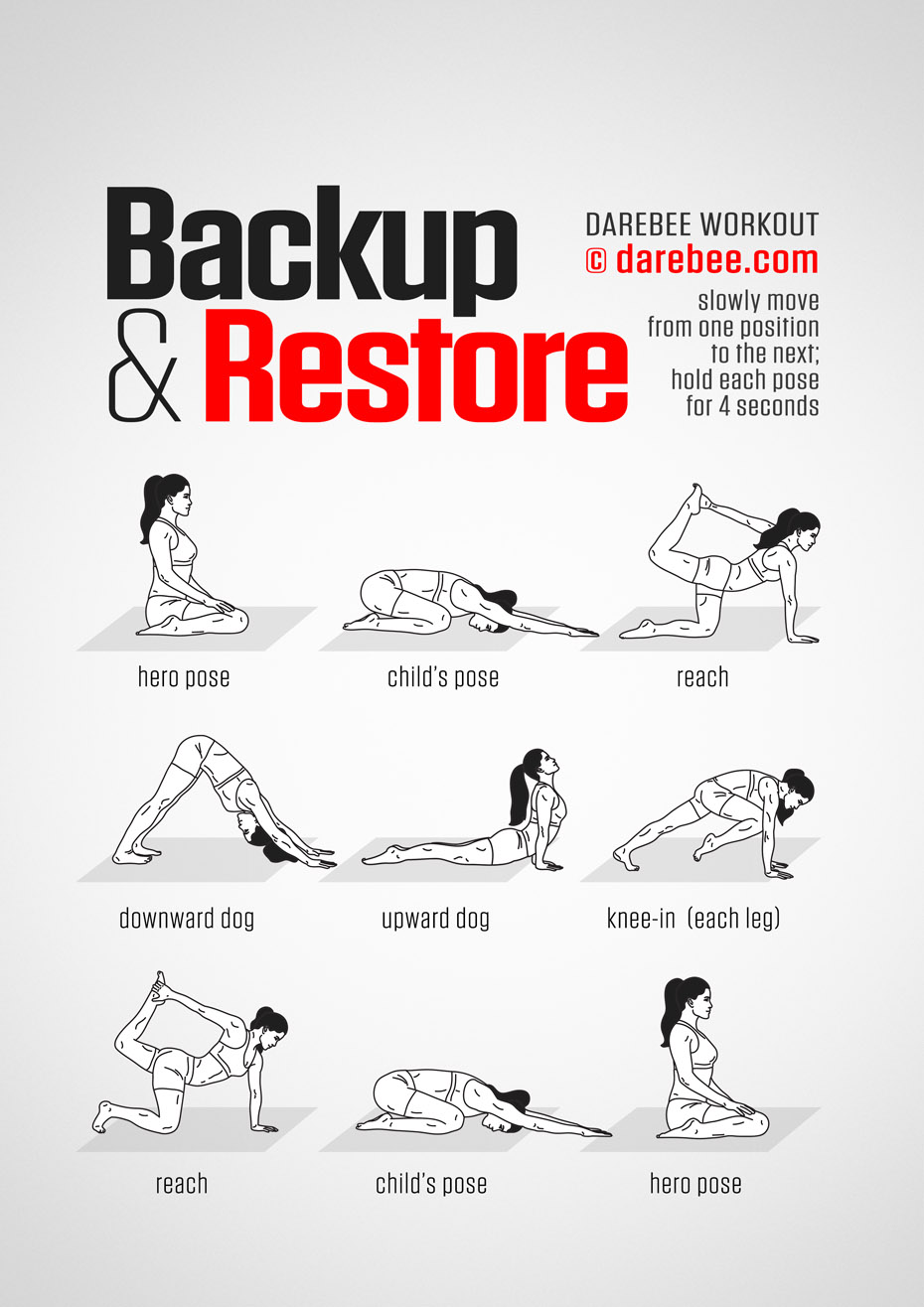 Backup & Restore Workout