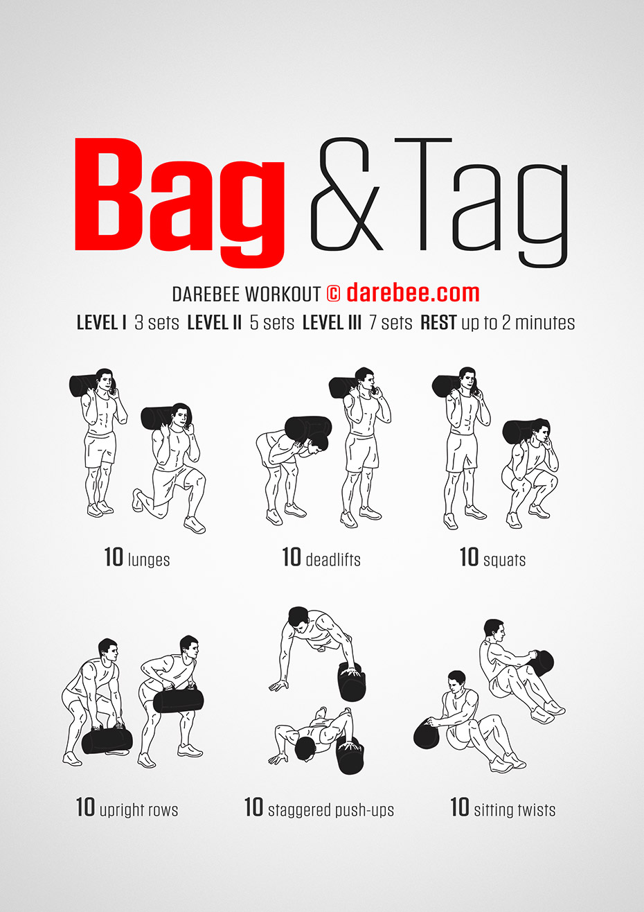 Sandbag Workouts And Tagged Circuit Workout Full Body