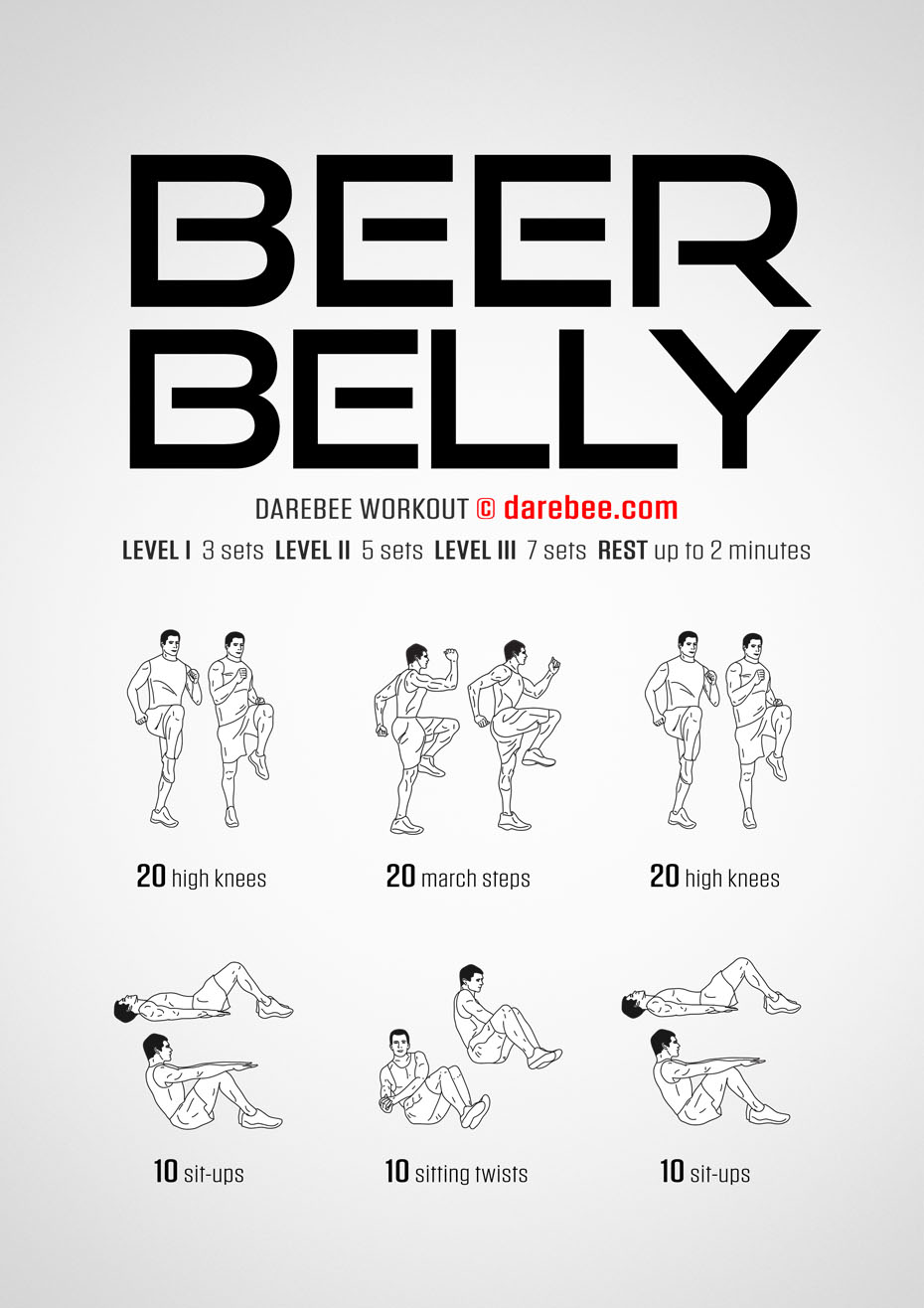 Beer Belly Workout
