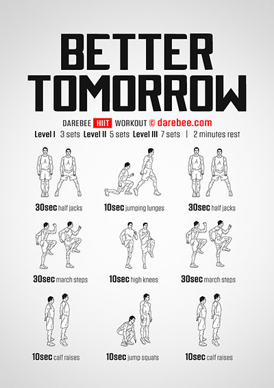 Better Tomorrow Workout