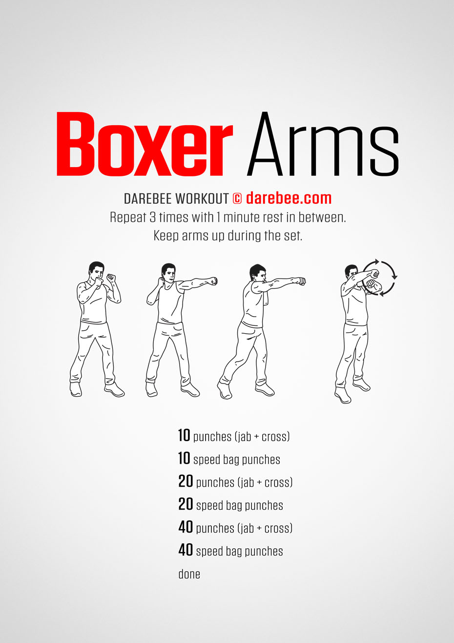 Boxer Arms Workout
