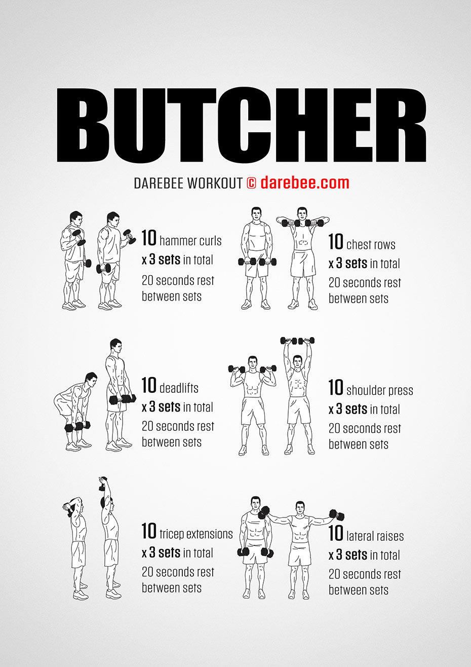 The Butcher Workout