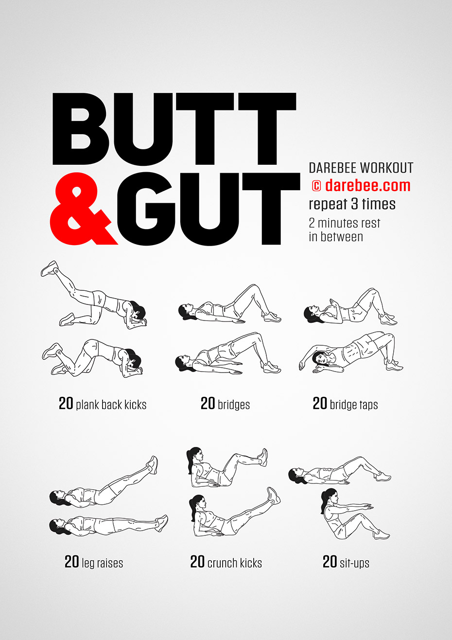 Butt Amp Gut Workout
