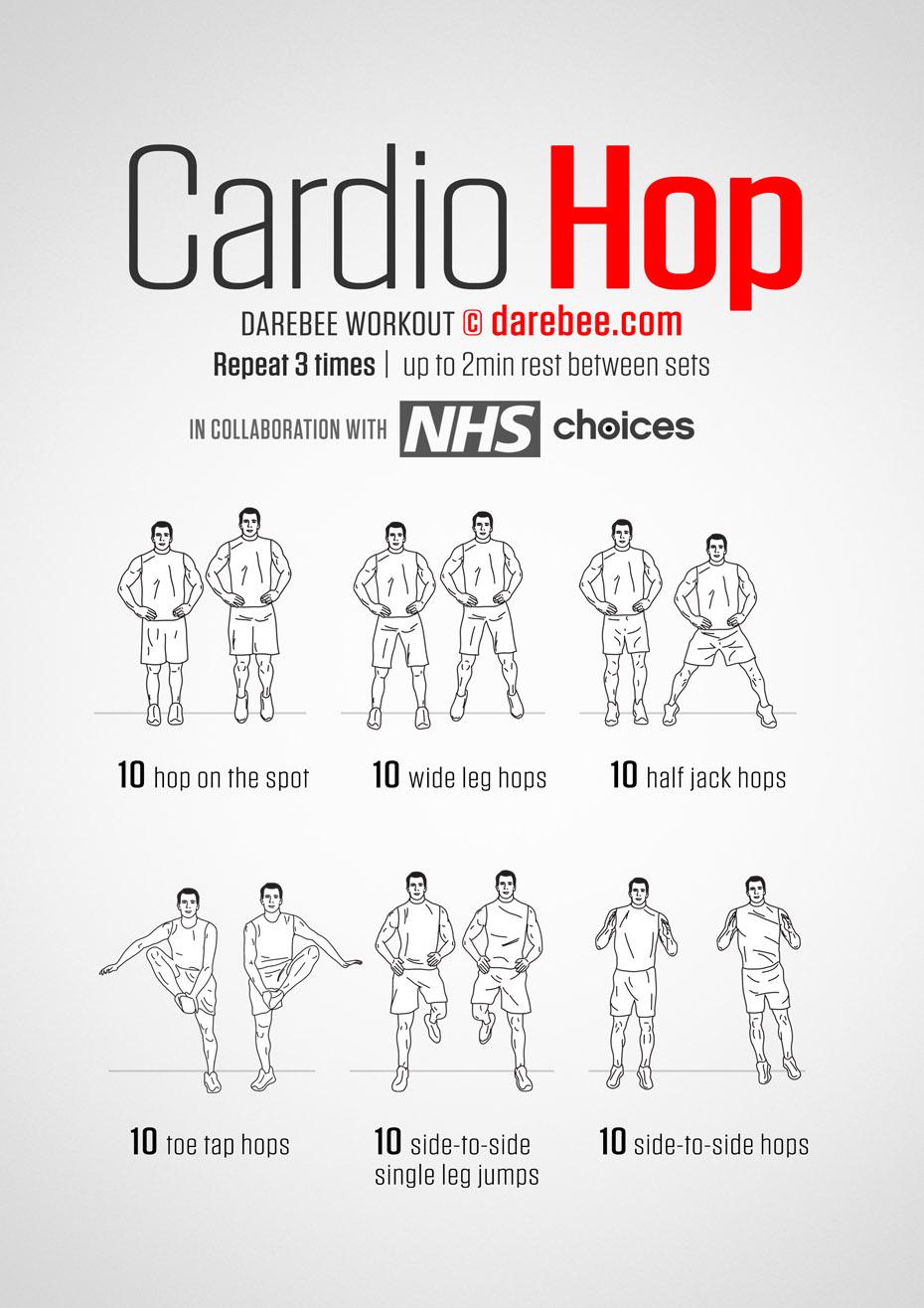 Cardio Hop Workout