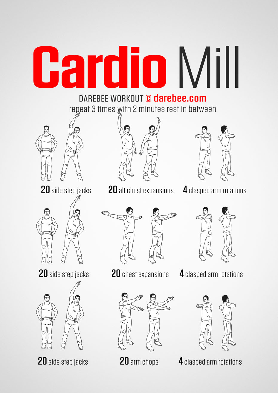 Cardio Mill Workout