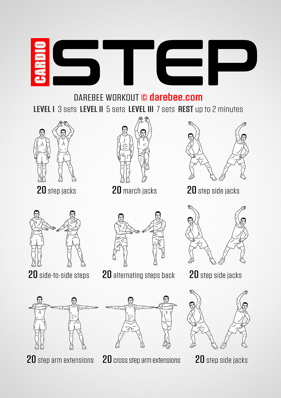 Cardio Step Workout