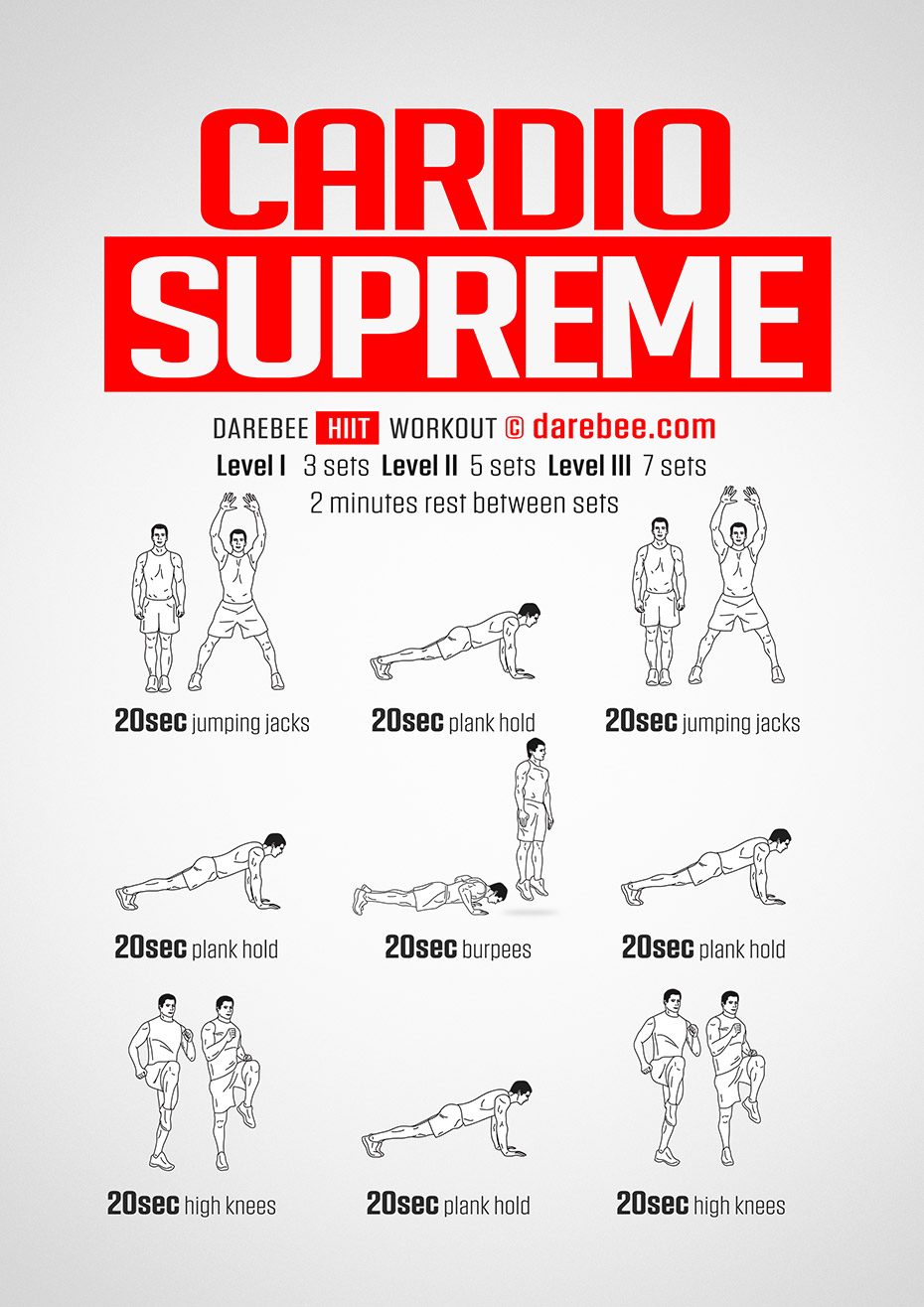 Cardio Supreme Workout