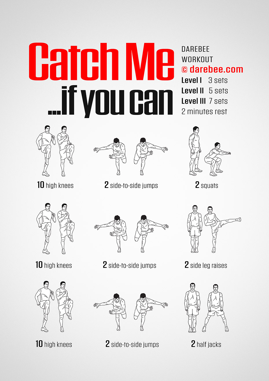 Catch Me Workout