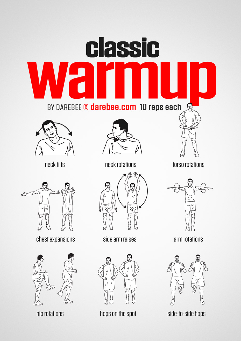 Classroom Warm Up Ideas ~ Classic warmup