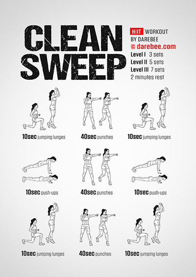 Clean Sweep Workout