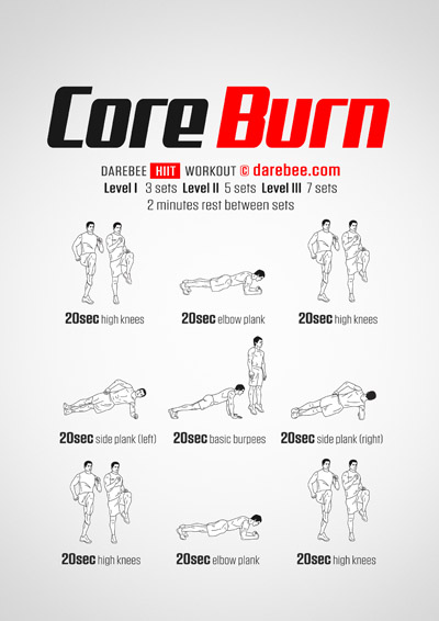 Core Burn Workout