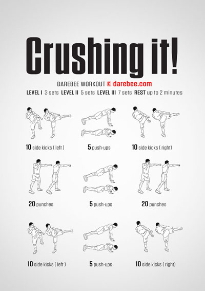 Crushing It! Workout