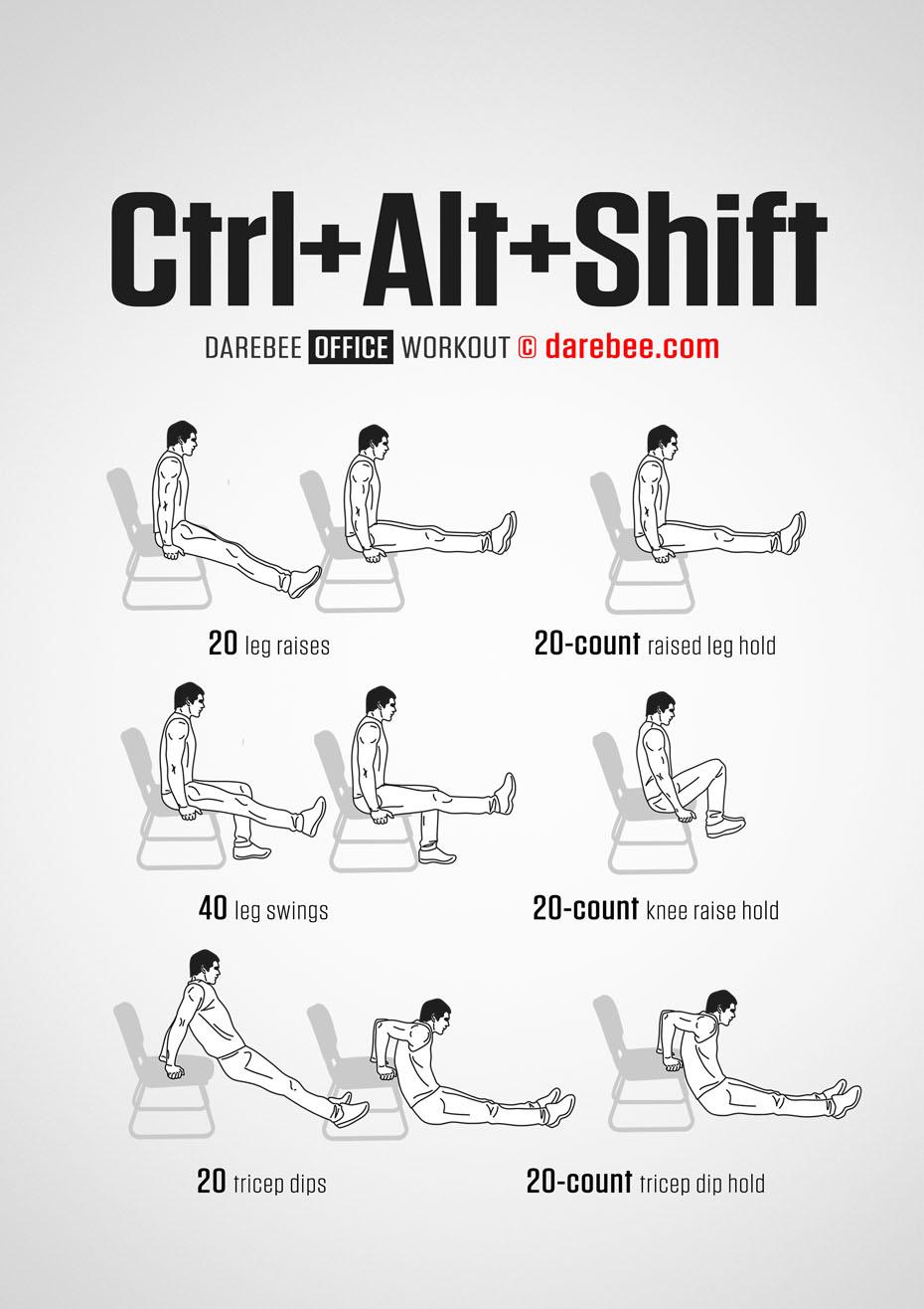 Ctrl Alt Shift Workout