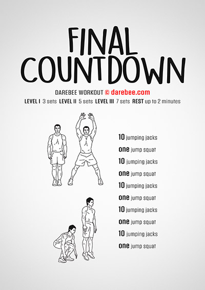 The Final Countdown Workout