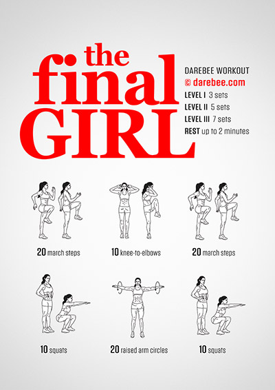 The Final Girl Workout