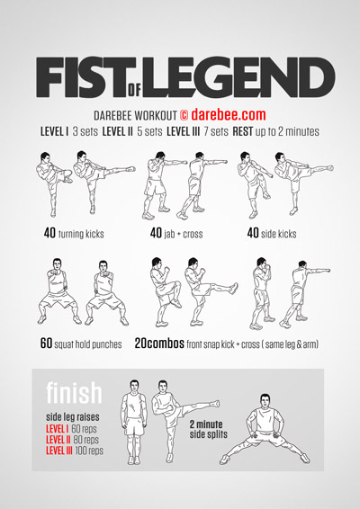 Fist of Legend Workout