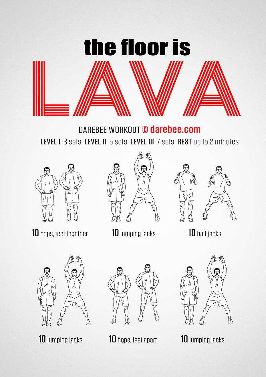 Floor is lava workout the floor is lava workout tyukafo
