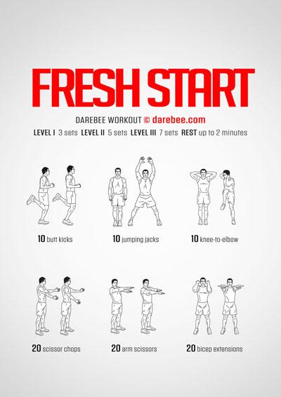 Fresh Start Workout