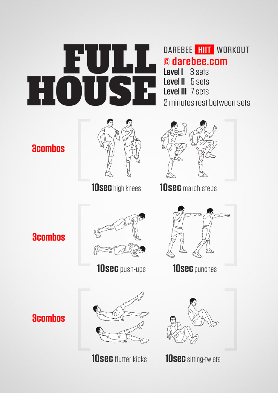 Full House Workout