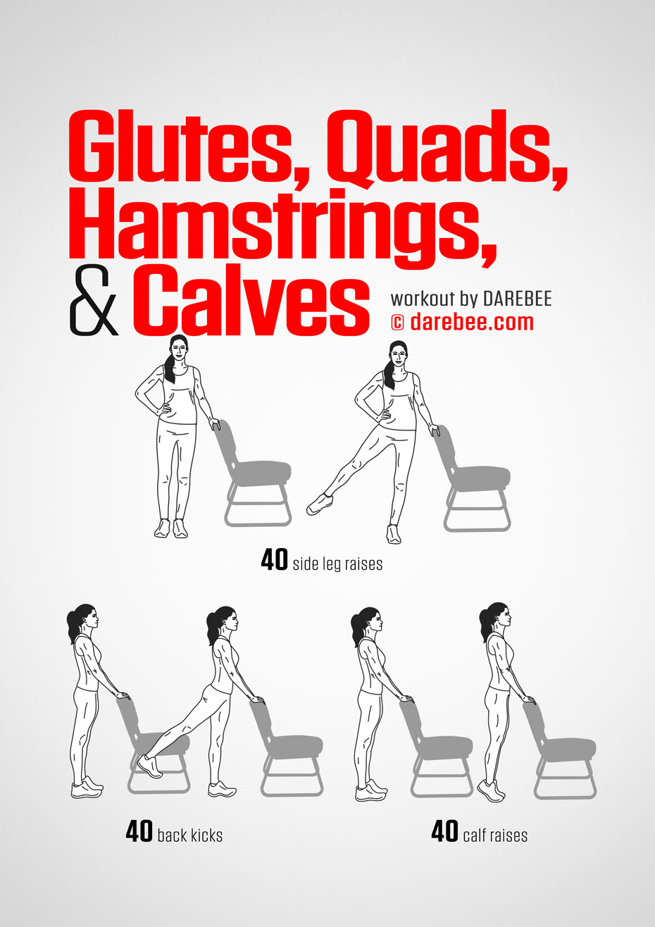 Manual Printable Stretching Exercises With Diagram