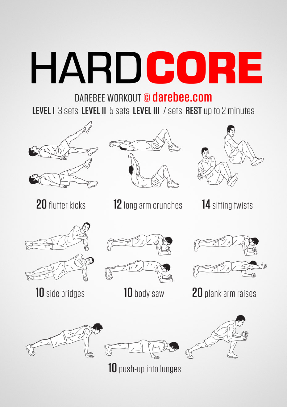 Hardcore Work Outs 8