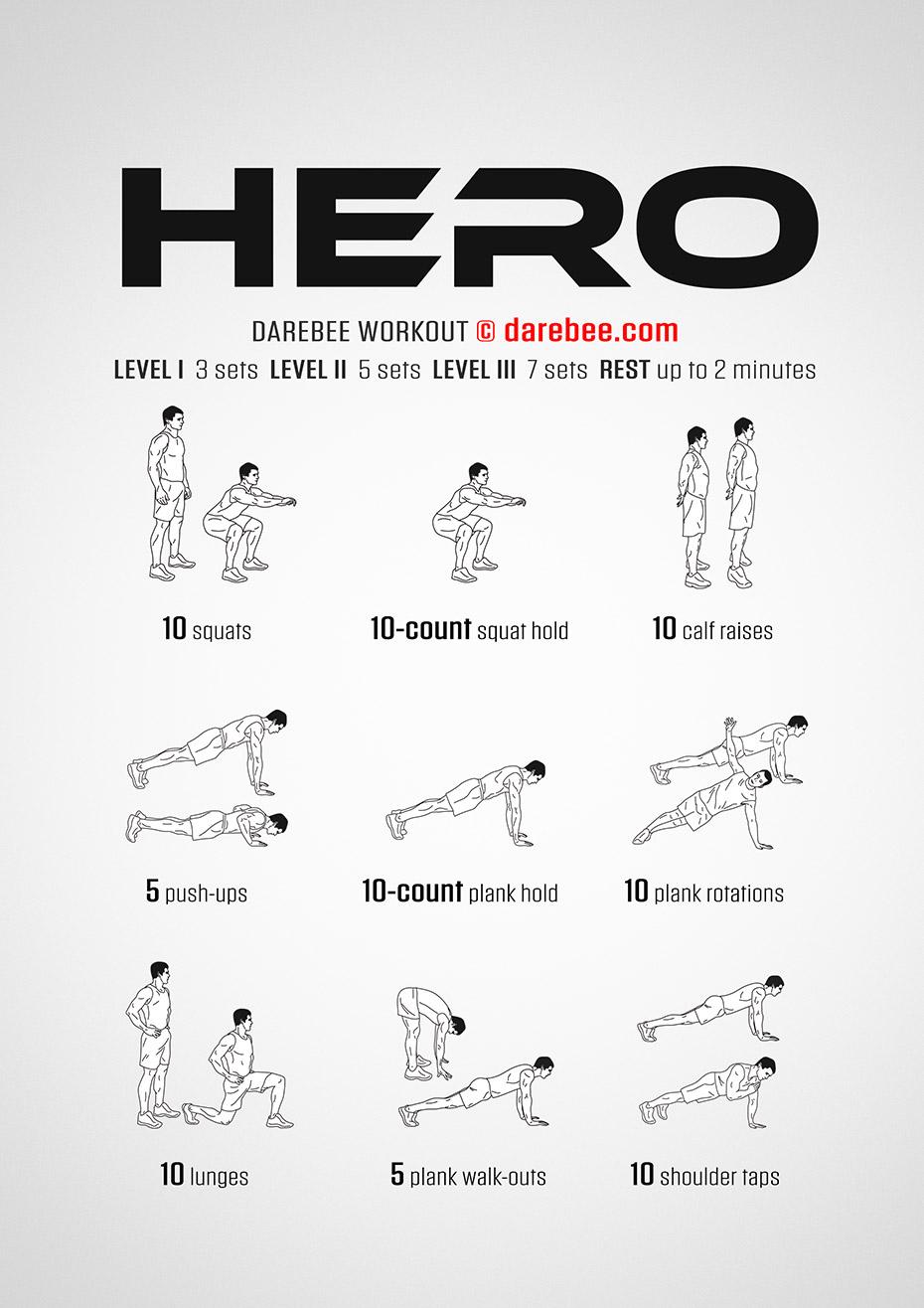 Saitama Workout Routine Results - Hero Workout