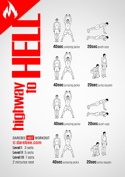Highway to Hell Workout