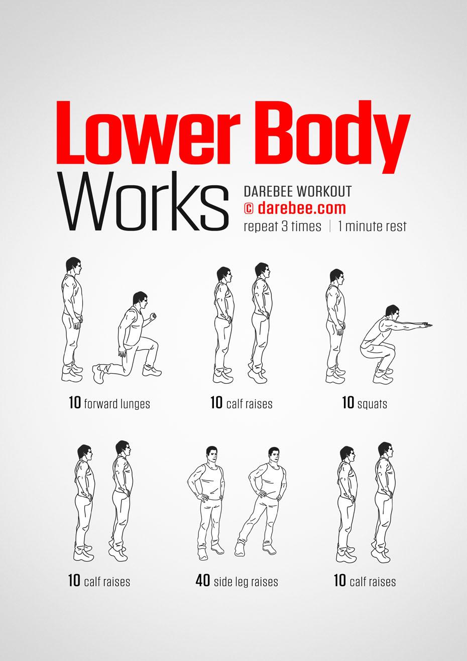 Lower Body Works