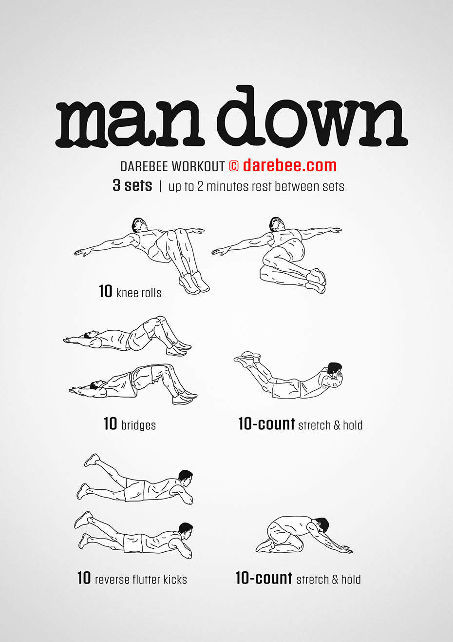 Man Down Workout