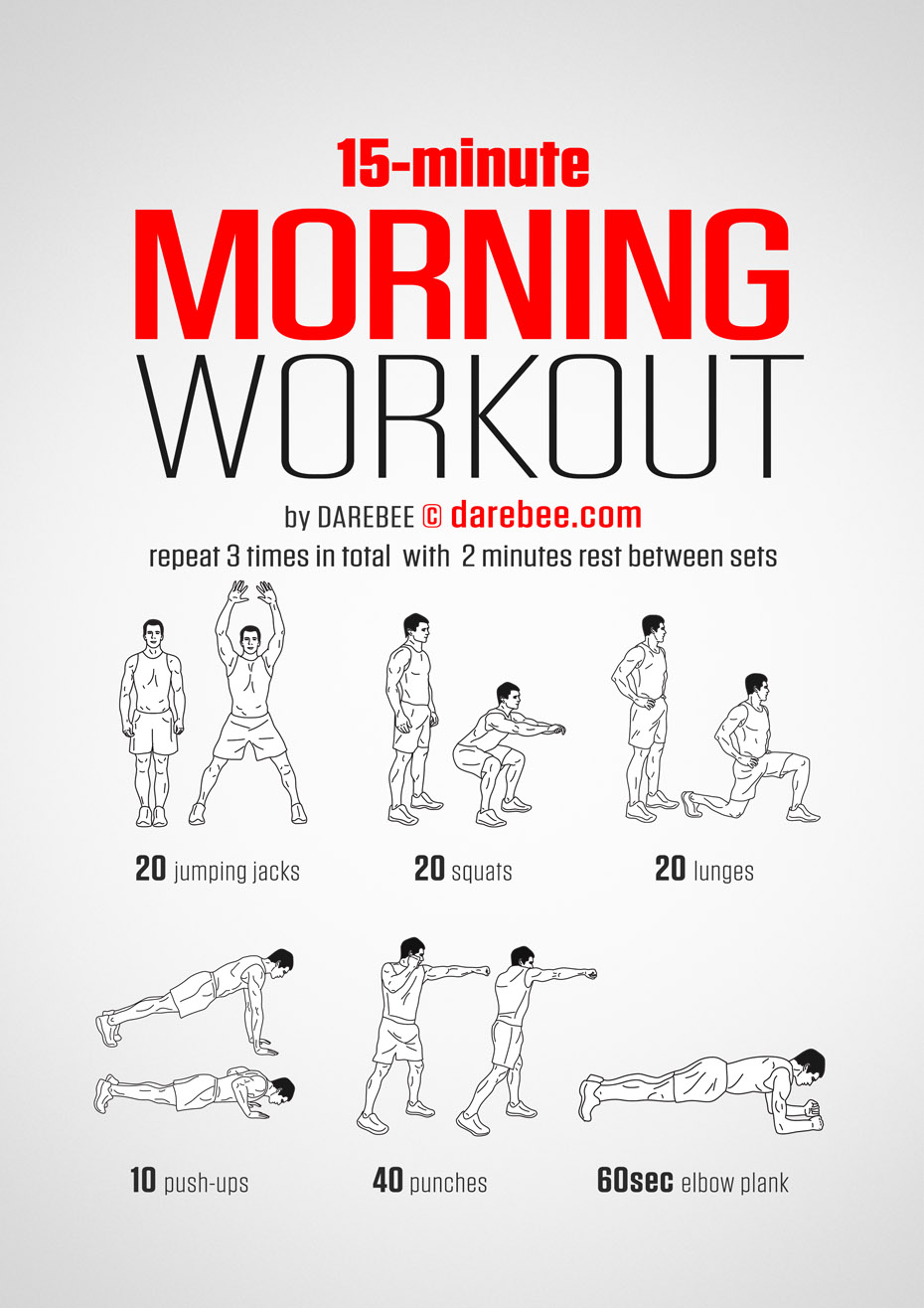 Easy Hotel Room Workout