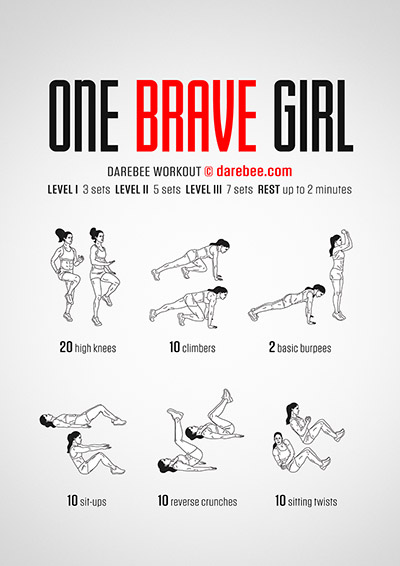 One Brave Girl PDF Darebee workout