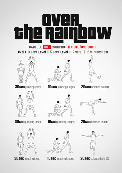 Over the Rainbow Workout