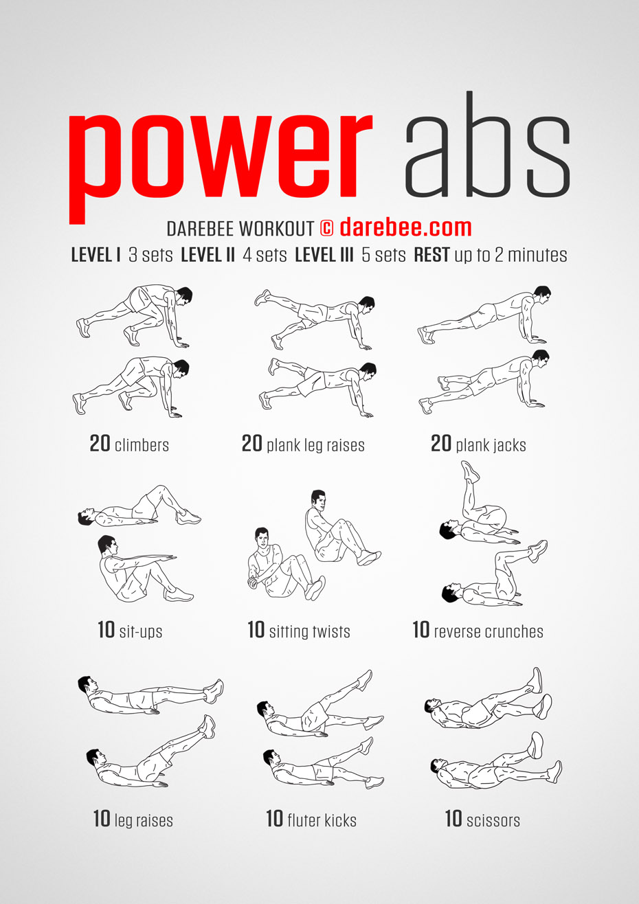 how to add abs to workout program