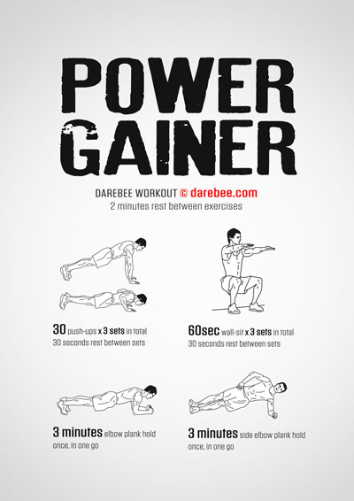 Power Gainer Workout