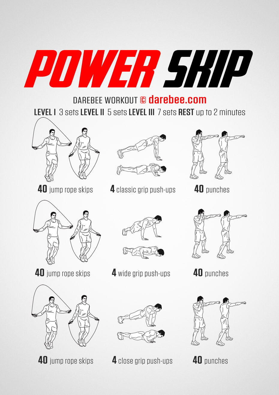 Power Skip Workout