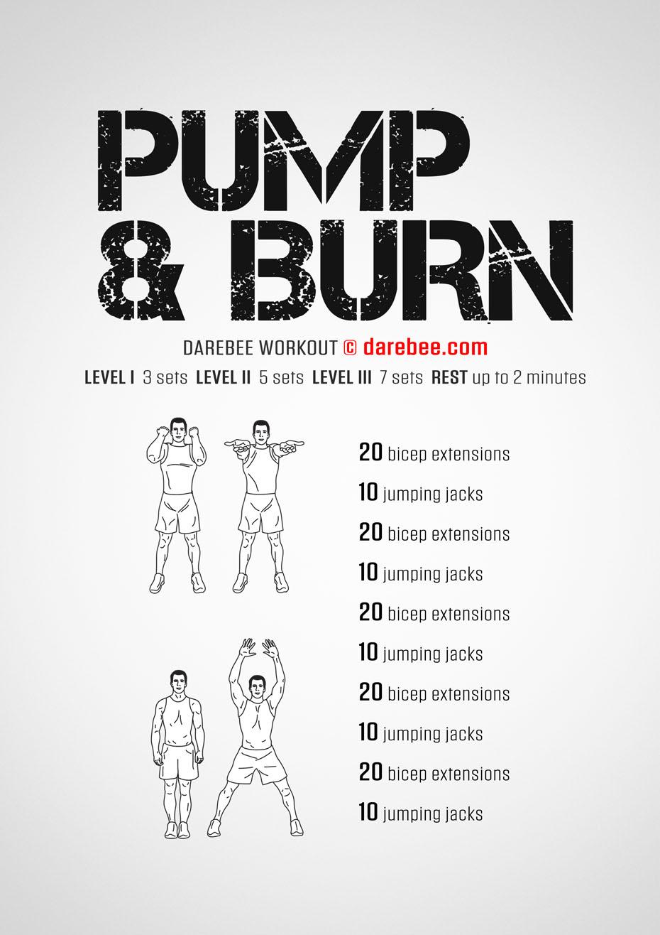 pump burn workout