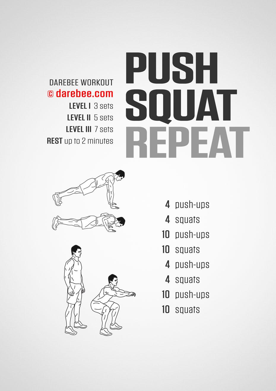 Push Squat Repeat
