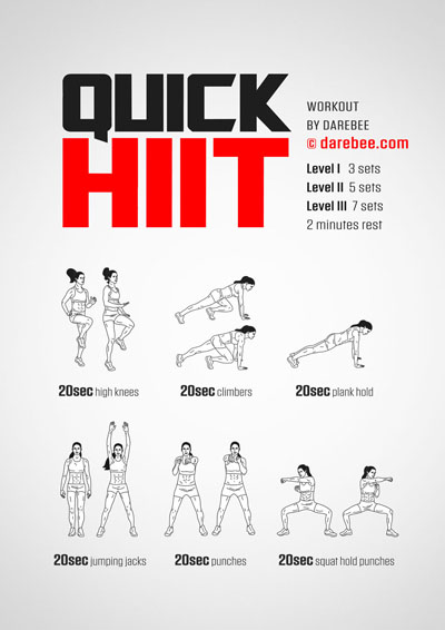 Quick HIIT Workout