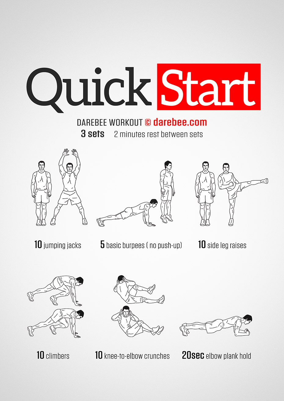 Quick Start Workout