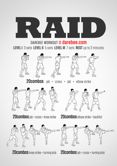 The Raid Workout
