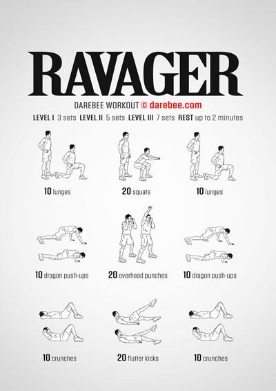 Ravager Workout