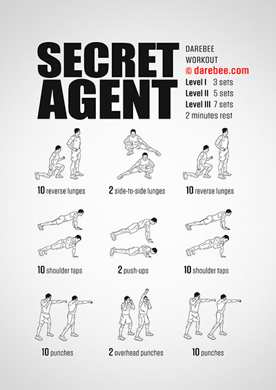 Secret Agent Workout