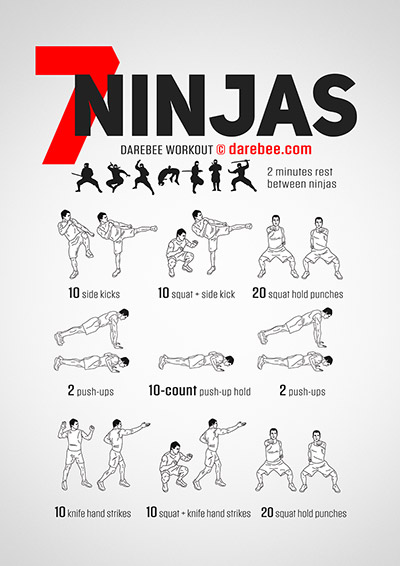 Ninja Workouts Collection