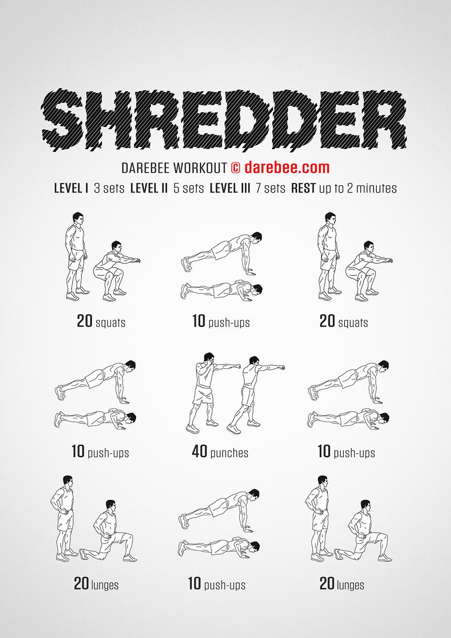 Shredder Workout
