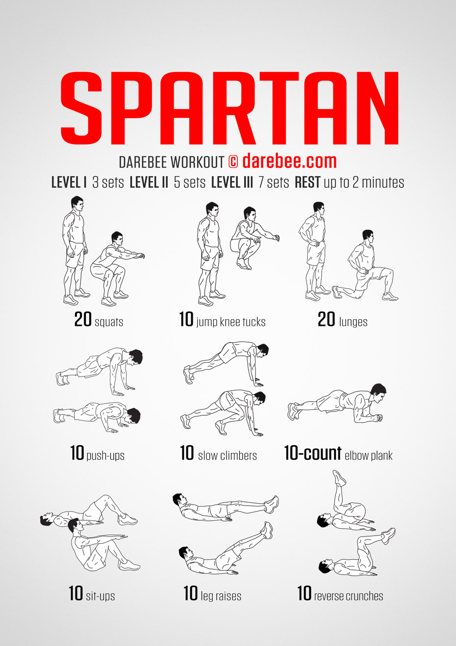 Spartan Workout