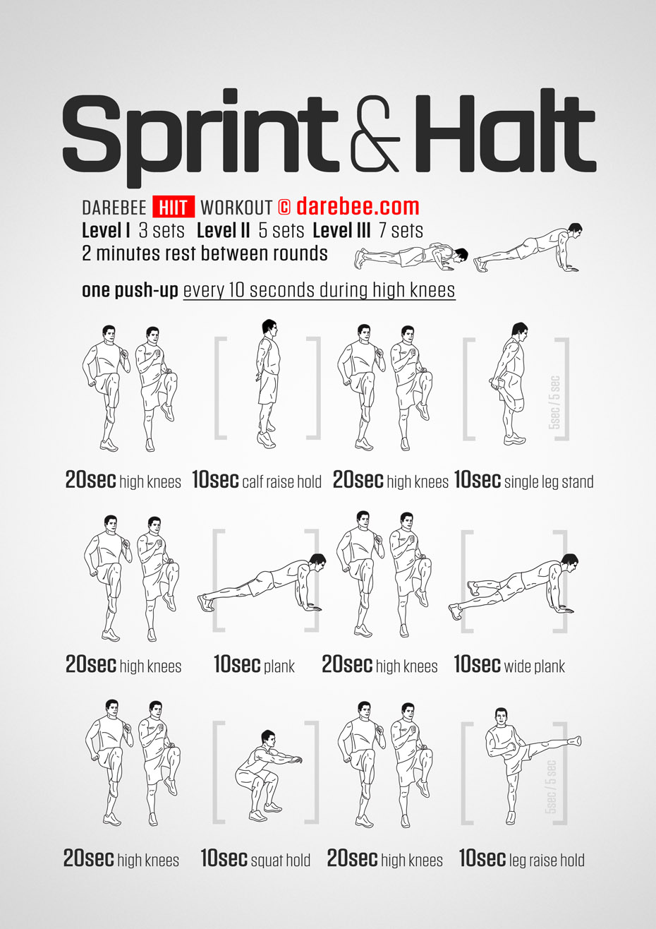 Sprinting workouts