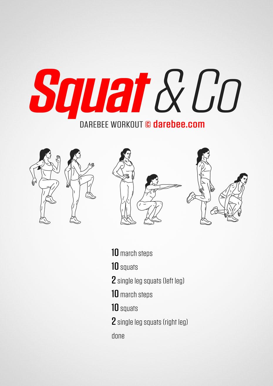 Squat Amp Co Workout
