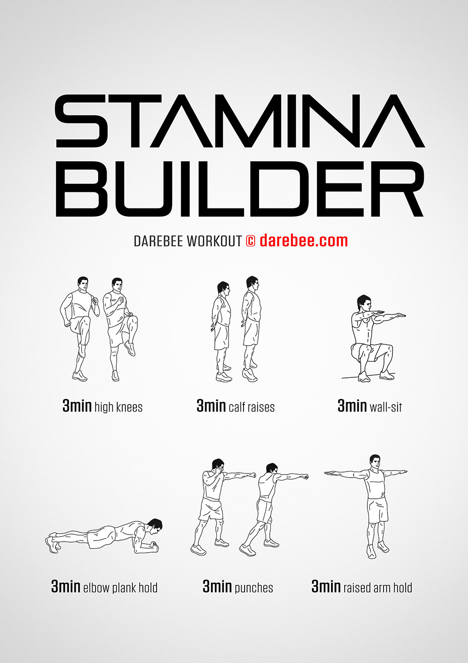 Stamina Building Exercises At Home