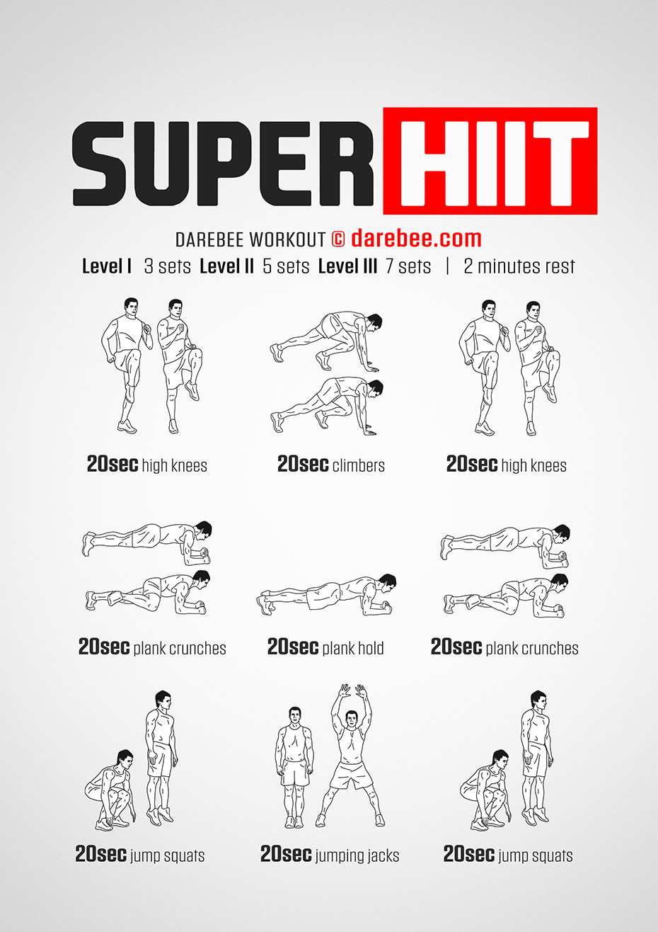 Super HIIT Workout