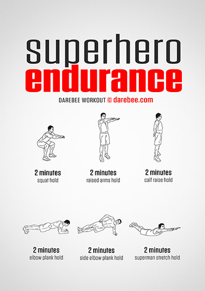 Superhero Endurance Workout